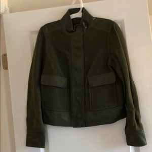 Target Who What Wear Green Jacket